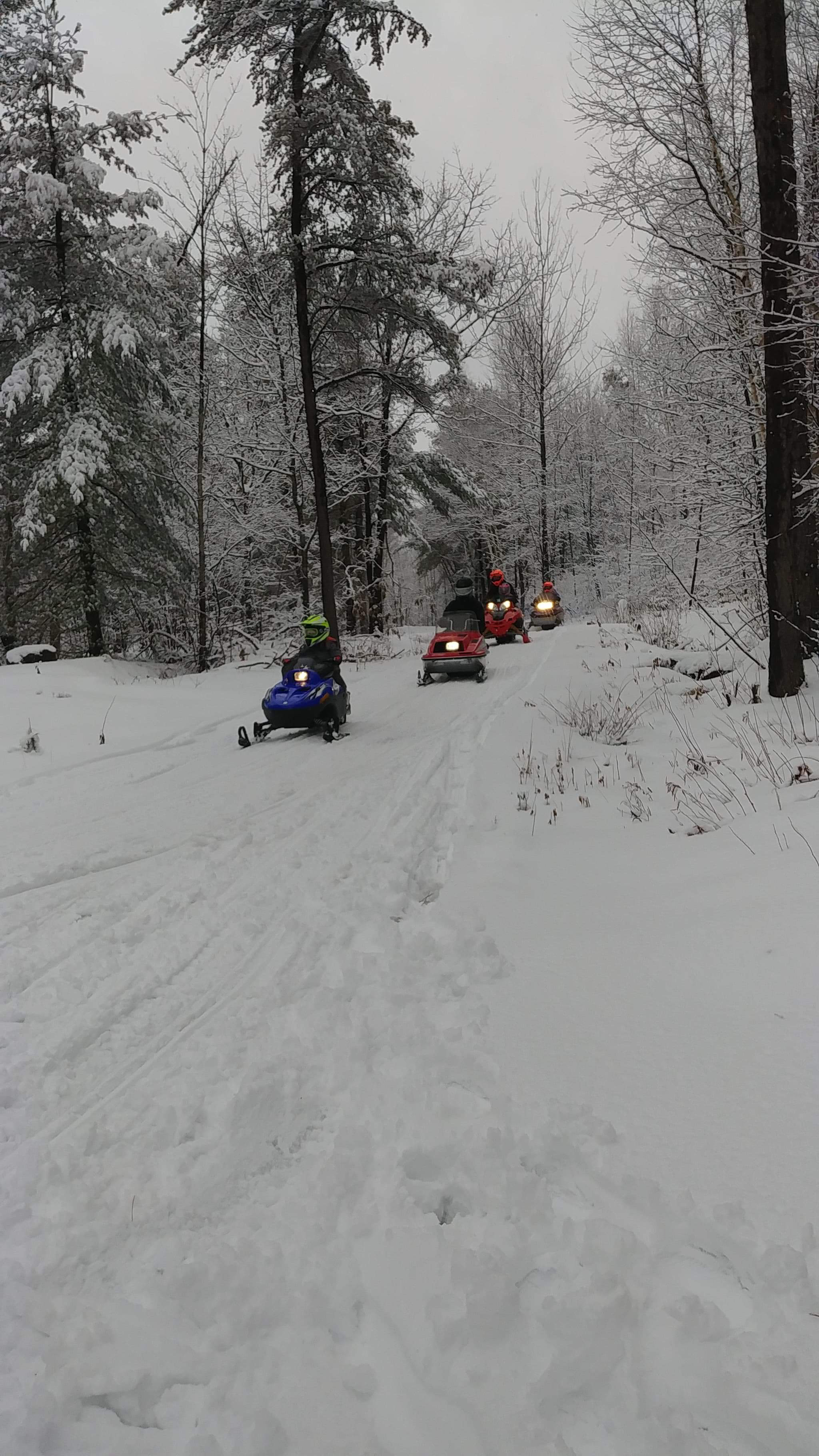 french river snowmobile