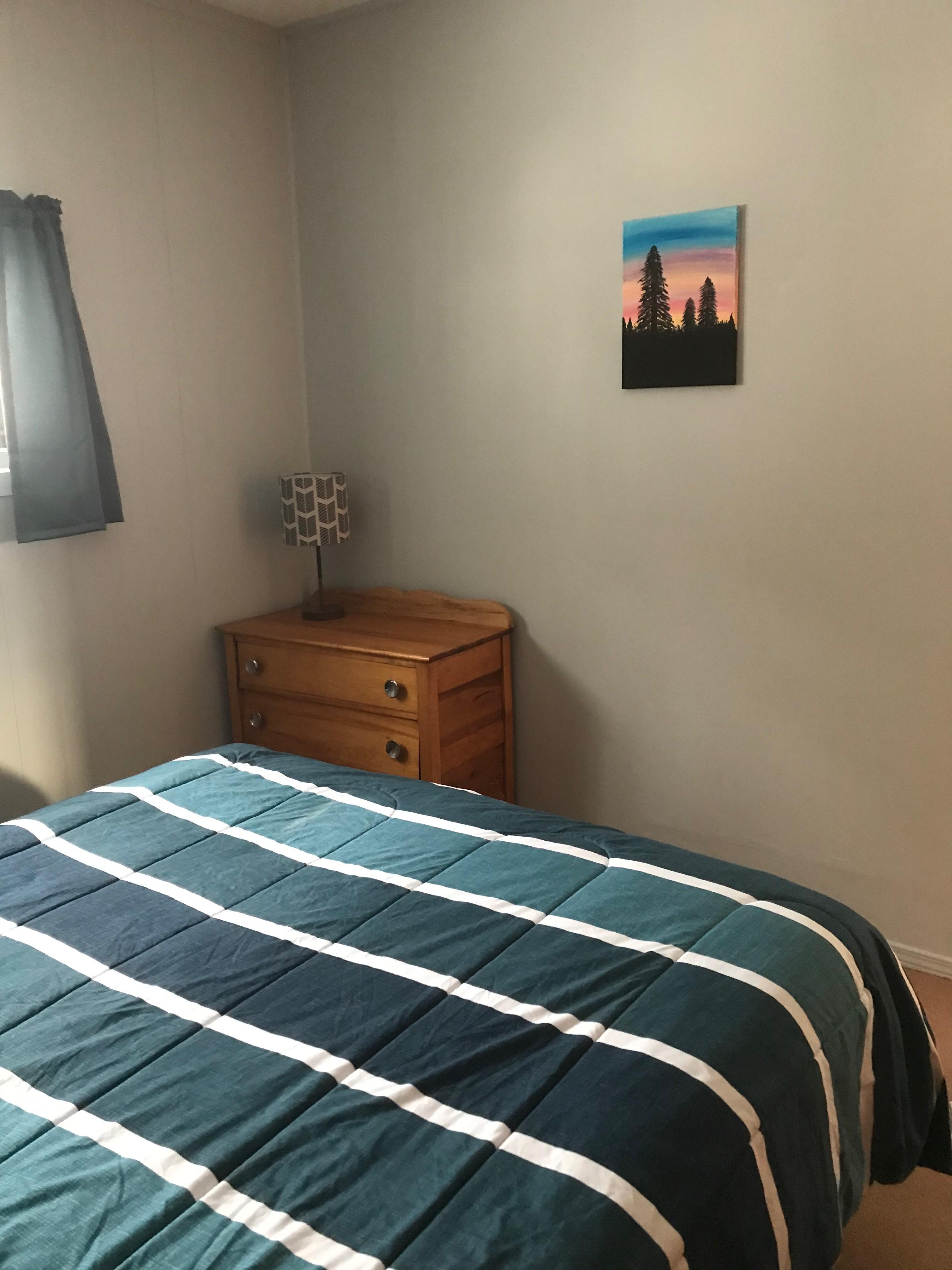 Cabin 2 bedroom view
