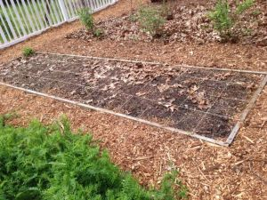Square Foot Garden from 2014
