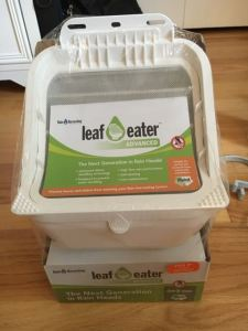 DIY Rainwater Collection System Leaf Eater
