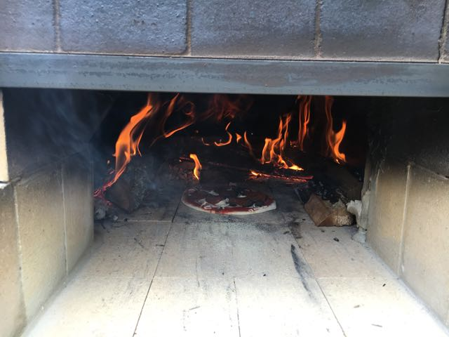 Homemade Pizza Oven