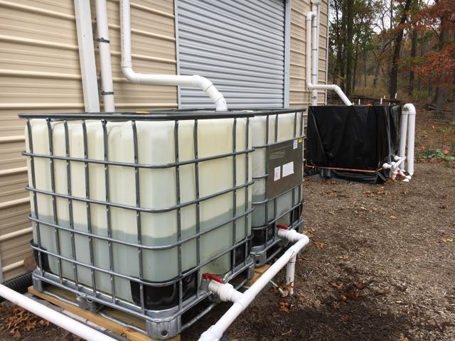Rainwater Harvesting Winterization