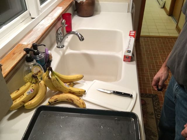 Flash Freezing Bananas for Smoothies