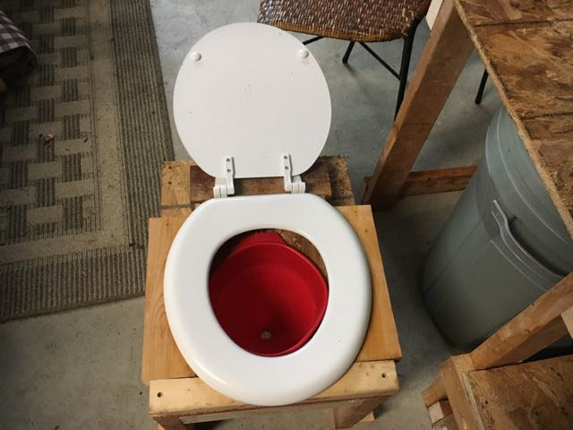 Humanure Composting Toilet