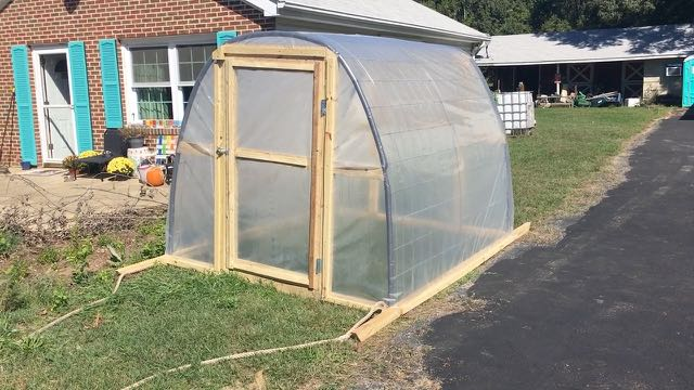 Permaculture and Homesteading Q and A Series No1 - DIY Cheap Greenhouse