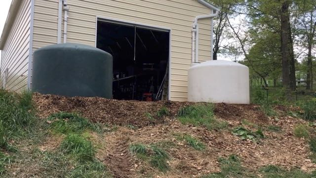 Large Rainwater Harvesting System Upgrade - Tanks in Place