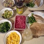 Fish tacos - setup