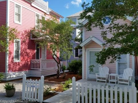 Seaside Pink Houses