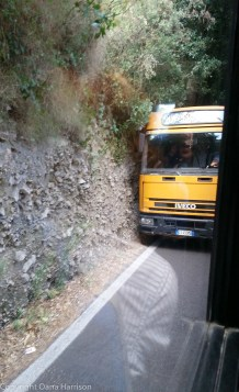 Bus to Positano