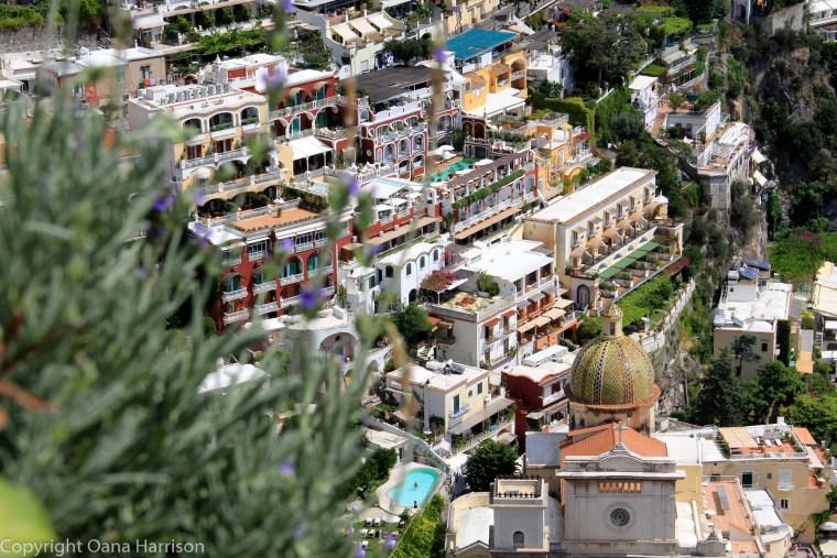 Colorful architecture in Positano