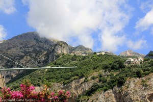 Head in the clouds in Positano