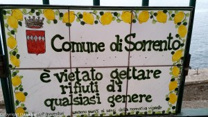 Sorrento welcome sign