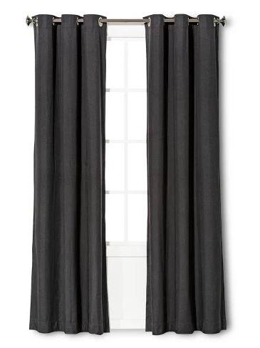 Light-blocking curtains