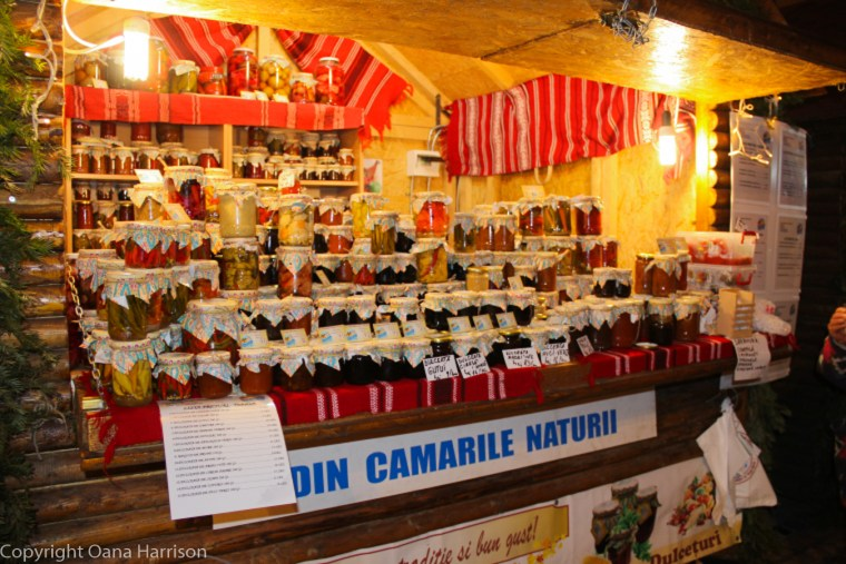 Brasov Romania Christmas Market Downtown