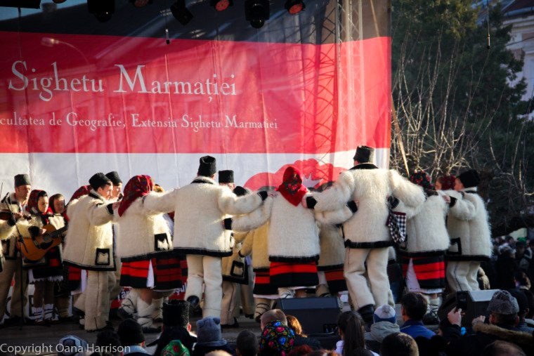Romanian Traditions Christmas Maramures Folk Dancers