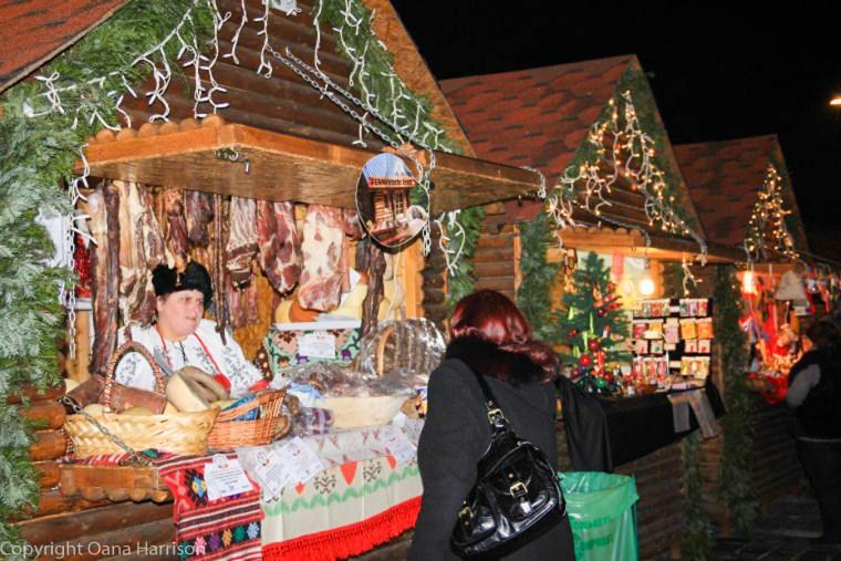 Brasov Romania Christmas Downtown Market