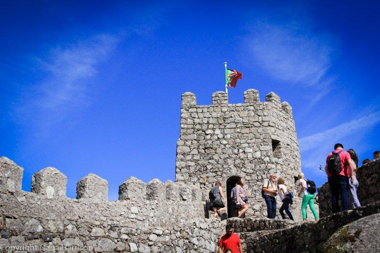 Sintra Portugal Castle of the Moors