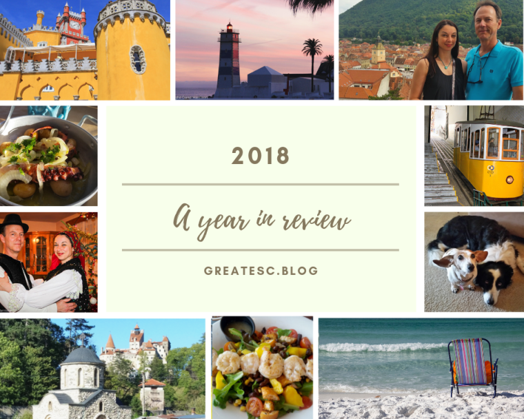 Year in review 2018 photo collage