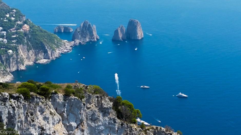 Capri Italy Mt Solaro view