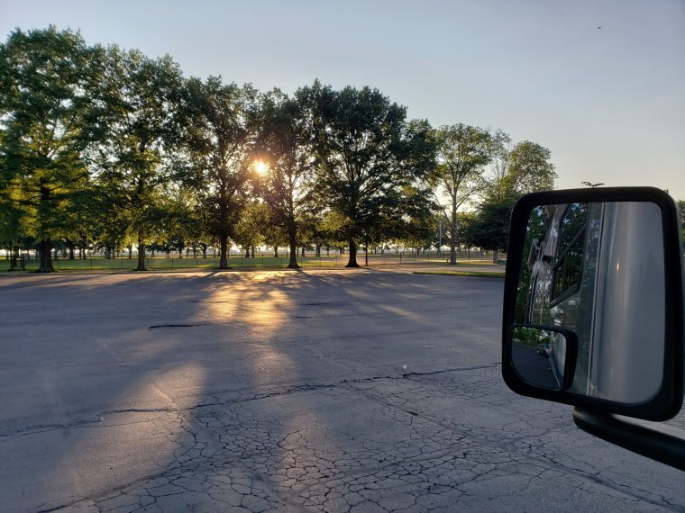 CERAland-park-and-campground-Indiana-sunset-RV