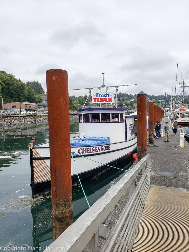 Newport-OR-Chelsea-Rose-fishing-boat