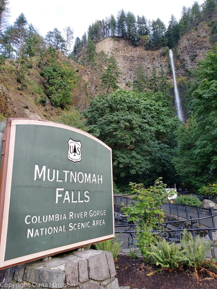 Ainsworth Park Multnomah Falls