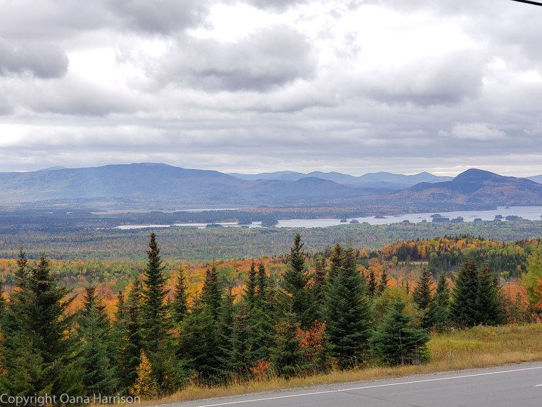Fall Colors in New England, Maine, Old Canada Road