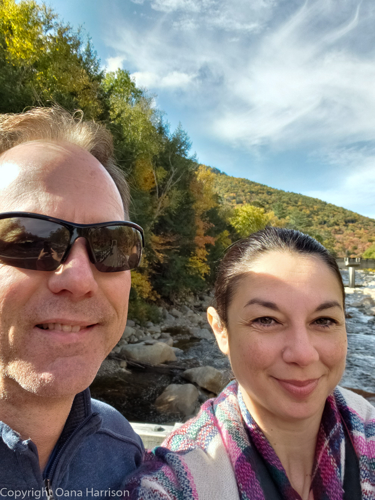 Oana and David in New Hampshire