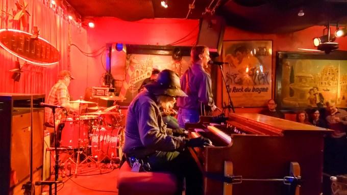 Live music at The Continental Club, Austin, Texas