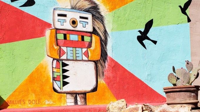 Mural in Truth or Consequences, New Mexico