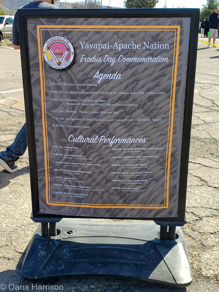 Yavapai-Apache Nation Exodus Day Commemoration, Arizona
