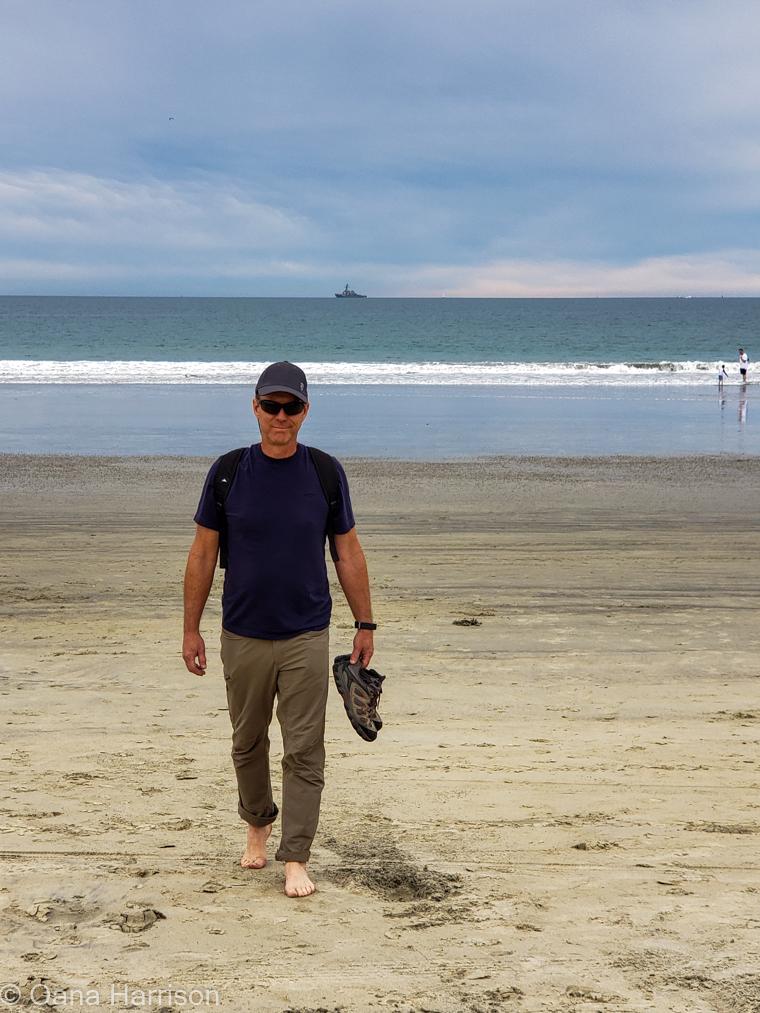 San Diego, California, Coronado beach, David