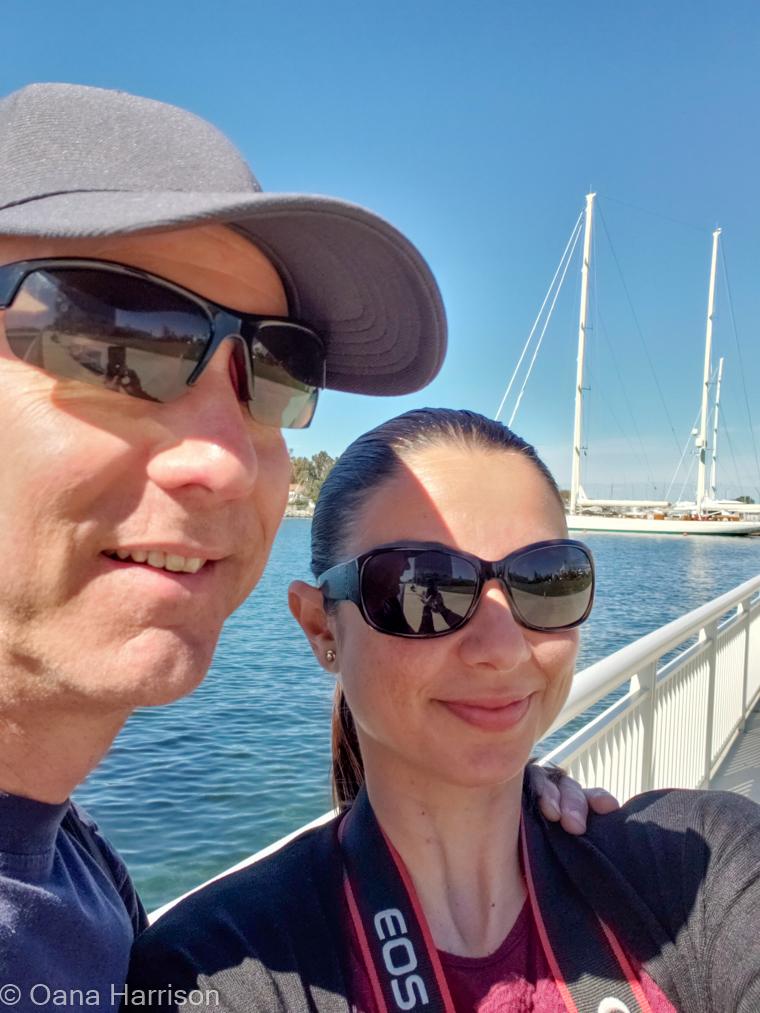 San Diego, California, Oana and David