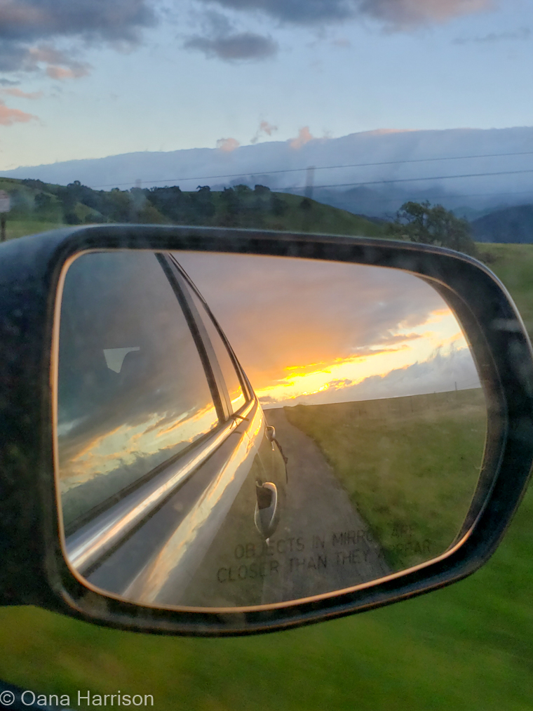 Santa Barbara, California, sunset