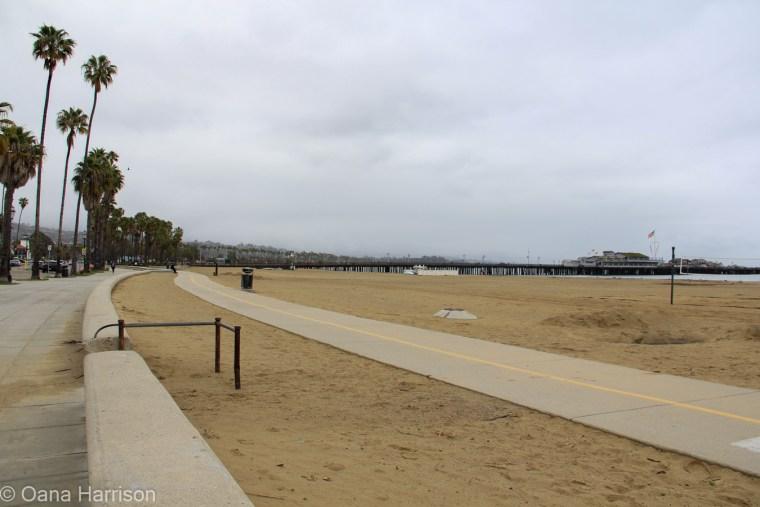 Santa Barbara, California, by the pier