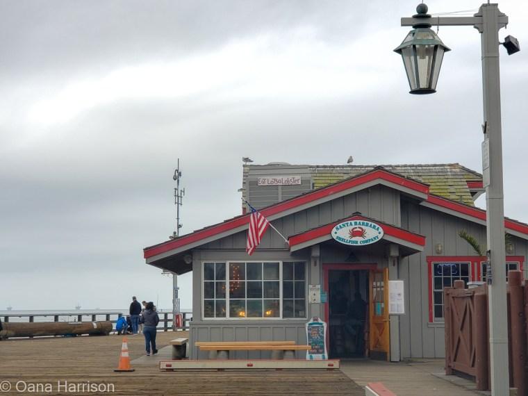 Santa Barbara Shellfish Company, Stearns Wharf, Santa Barbara Pier, California