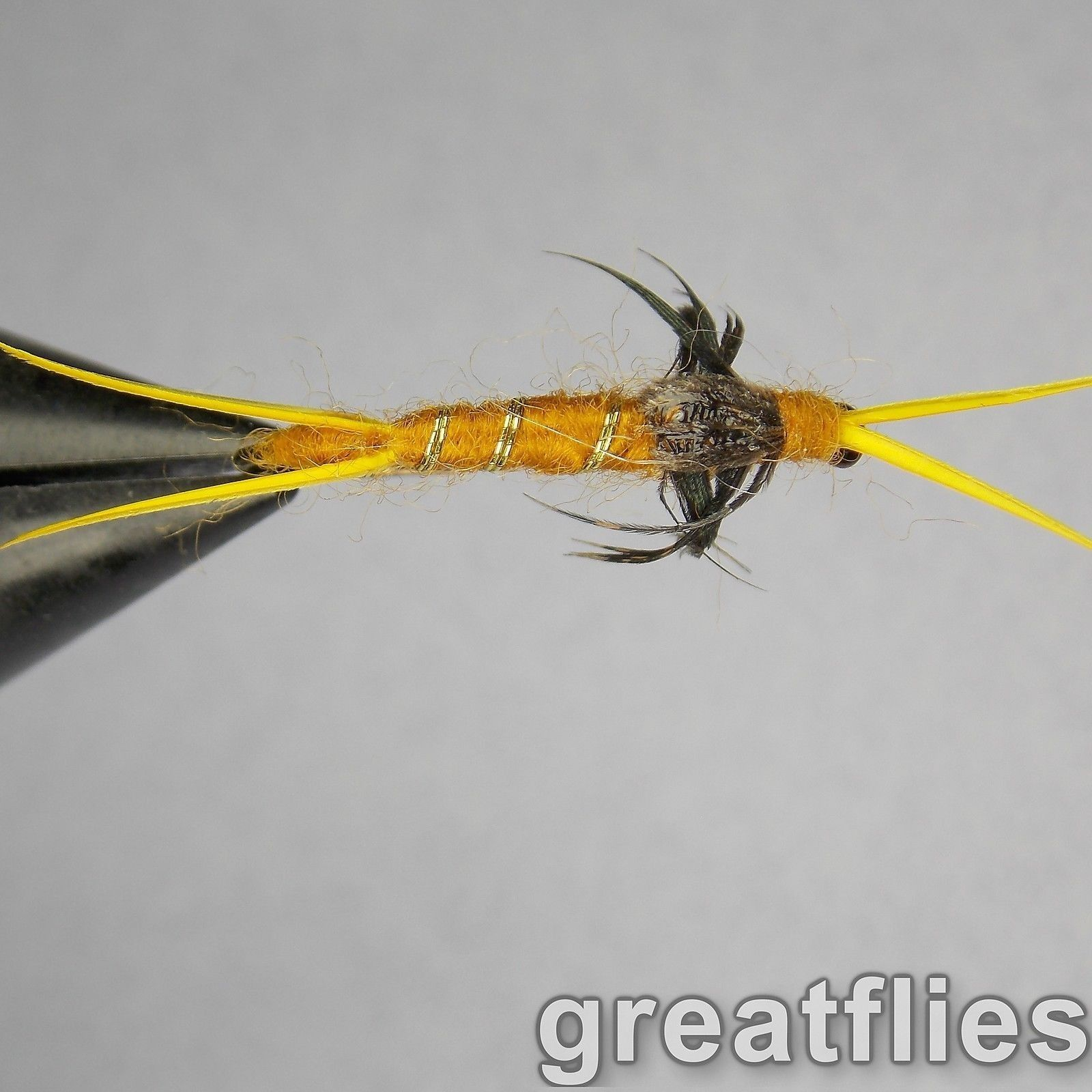 - Kaufmann/'s Stonefly Nymph 1 dozen GOLDEN 12 Bead Head