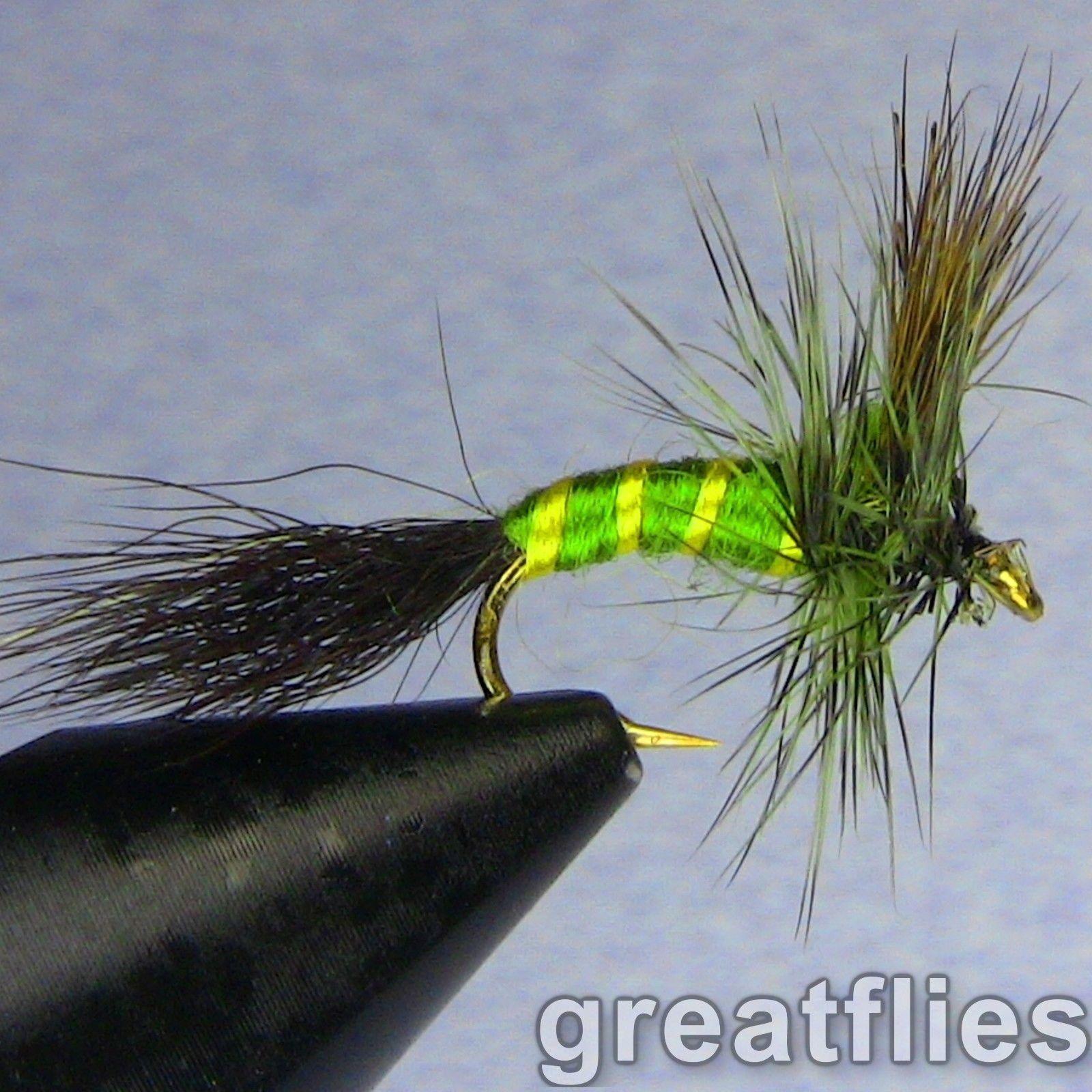 12 Green Drake 1 dozen