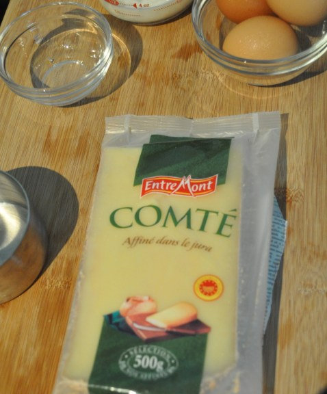Comté Cheese for Savory Cheese and Chive Bread