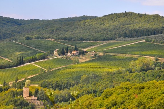 View from Il Molino di Grace