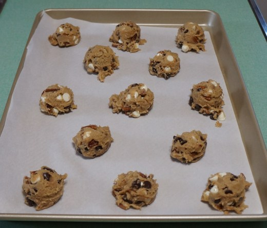 Cookies Evenly Spaced - 13 to a Sheet Pan