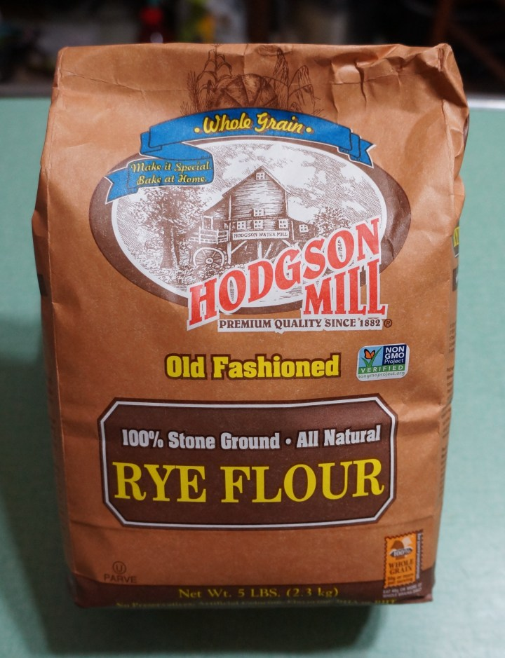 Whole Grain Rye Flour.