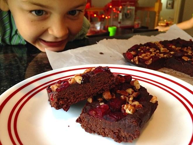 Raw Date Brownies