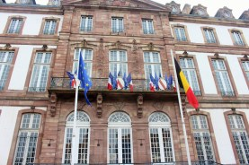 Strasbourg is a key meeting point: the European Parliament is housed in the city, as are many foreign embassies.