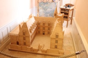 Matchstick model of the Castle- it took 6000 hours to build!
