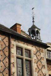 Brickwork and cupola