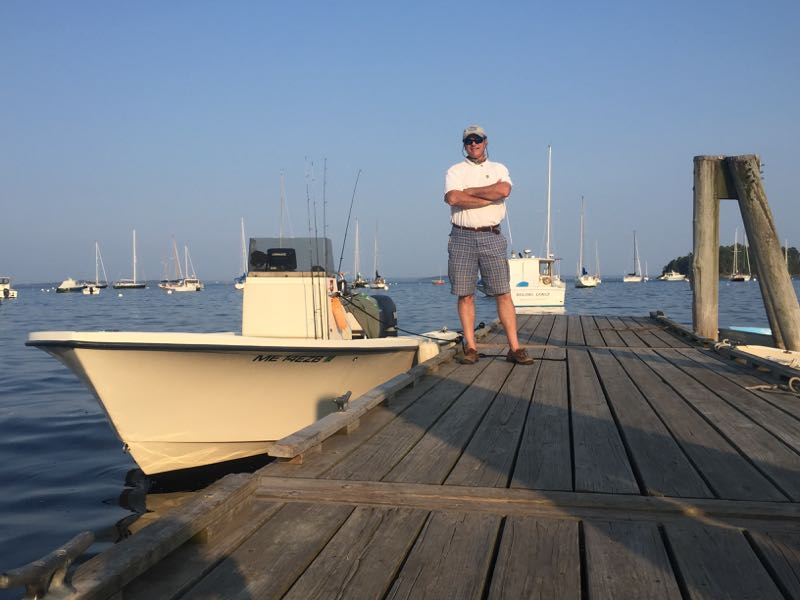 Captain Johan Brouwer Registered Master Maine Fishing Guide USCG Master License