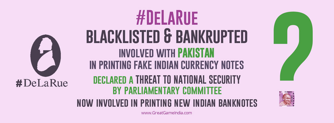 When Was Ban On Blacklisted Currency Printer De La Rue Lifted