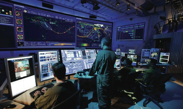 The Joint Space Operations Center at Vandenberg, which is part of U.S. Strategic Command, maintains a space catalog that tracks debris and other objects.