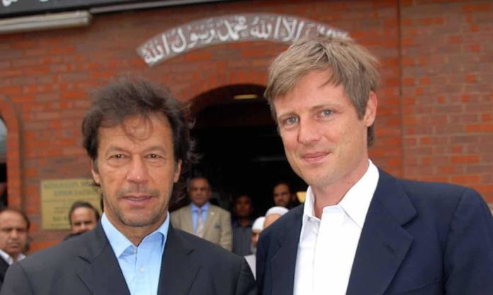 Imran Khan with Zac Goldsmith